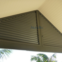 Aluminum Fixed Shutter with Operable Blade