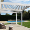 Motorized and Waterproof Garden Deck Pergola Louvre System