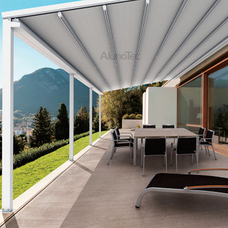 Waterproof Aluminum Retractable Awning Sunshade Cover