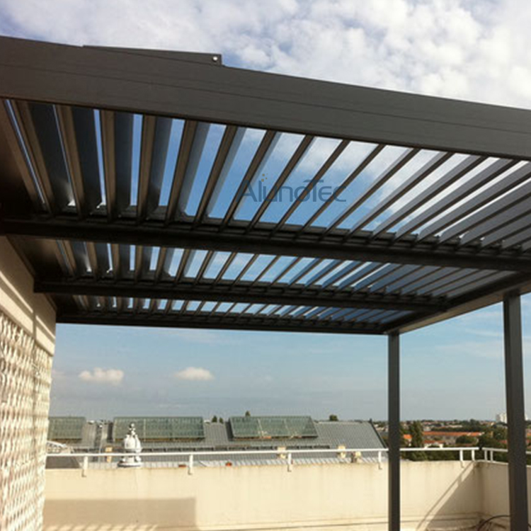 Merveilleux Luxury Electric Louvered Patio Cover Systems Aluminium Pergola