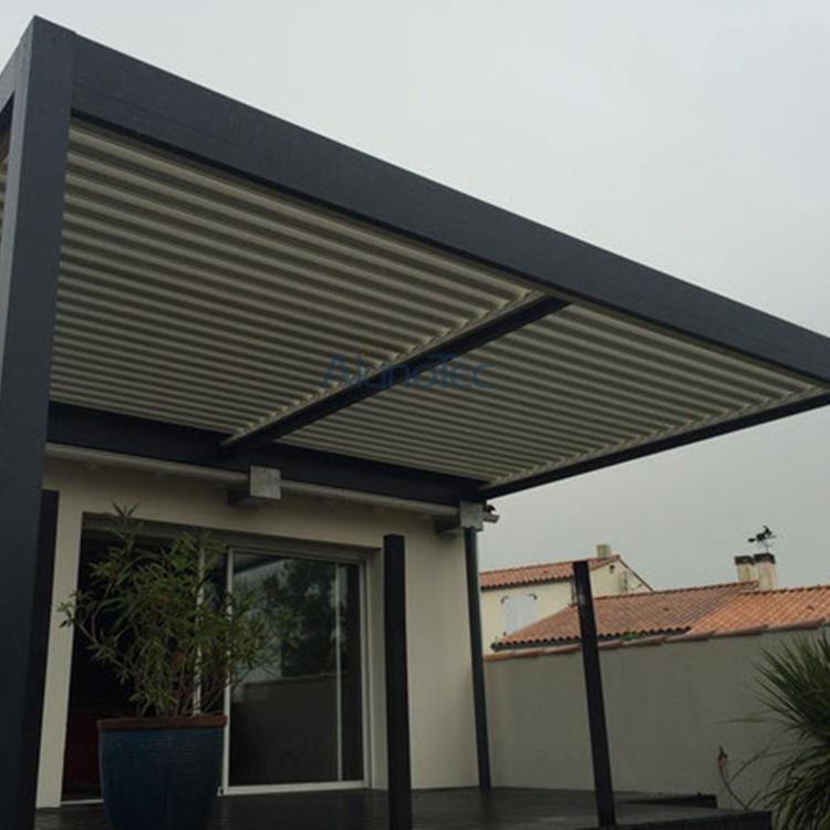 Charmant Luxury Electric Louvered Patio Cover Systems Aluminium Pergola