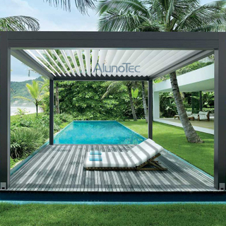 Customized Folding Pergola Kit Waterproof For Outdoor