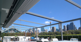 Retractable Roof Project for Outdoor Bar Project