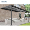 Garden Outdoor Shade Sliding Retractable Roof Systems Terrace Covers