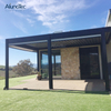 Customized Motorized Outdoor Adjustable Louvered Roof Pergola Aluminum Gazebo Kits