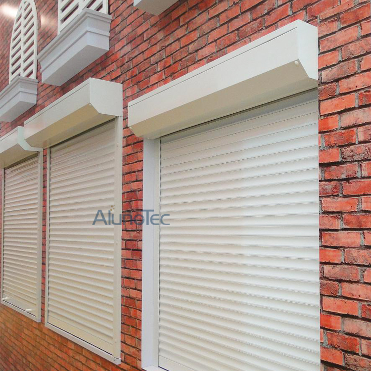 Durable Sunproof Aluminum Rolling Up Shutter