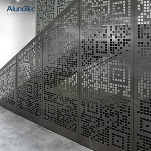 Custom Made Interior Decor Laser Cut Metal Partition Screen For Living Room Decoration
