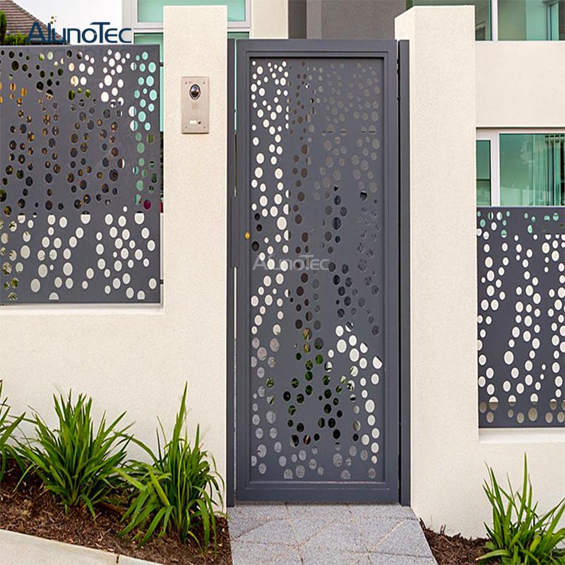 Art Decorative Carving Aluminum Perforated Metal Screen
