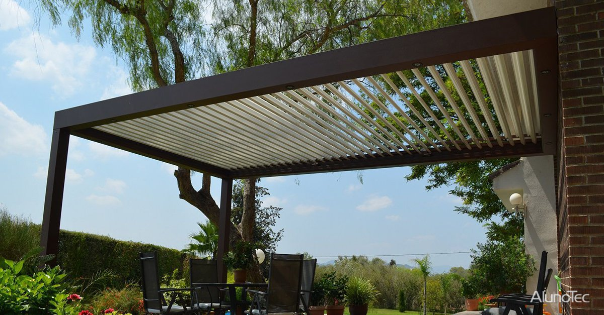 CONVERT YOUR SMALL TERRACE WITH A PERGOLA