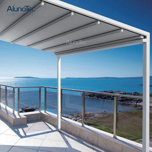 Aluminum Pergola Side Awning For Garden