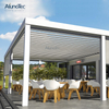 Outdoor Restaurant Customize Design Pergola With Louvered Roof