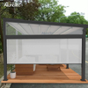 Garden Awning Automatic Opening Closing Tent 4x4 Retractable Awning For Outdoor