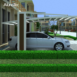 PC Panel Cover Aluminium Frame Carport for Garden