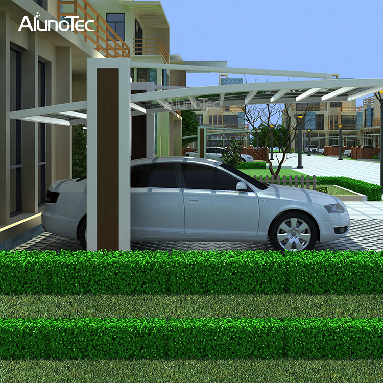 Customized Retractable Car Awning Patio Carport in Garden