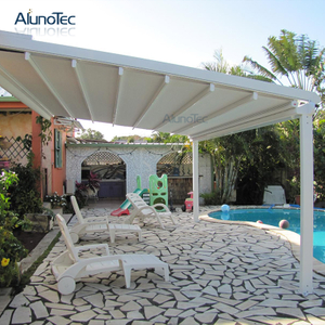 China Electric Tent Adjustable Pergola Waterproof Awning Outdoor with Remote Control System
