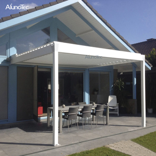 Remote Controlled Adjustable Cover Pergola For Outdoor Patio