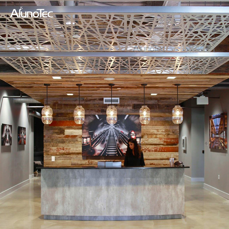 Alunotec Suspended Aluminum Ceiling Tile For Hotel Buy