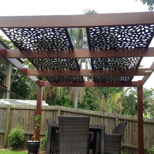 Outdoor Modern Aluminium Panels With Pattern For Decoration