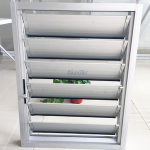 Airflow Aluminum Louver Window For Bathroom