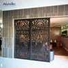 The Office Decorative Soundproof Panels Perforated Metal Partition Panel