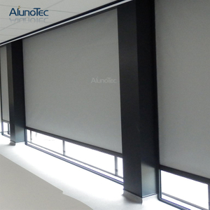 Outdoor Roller Blind Electric Roman Curtain for Door