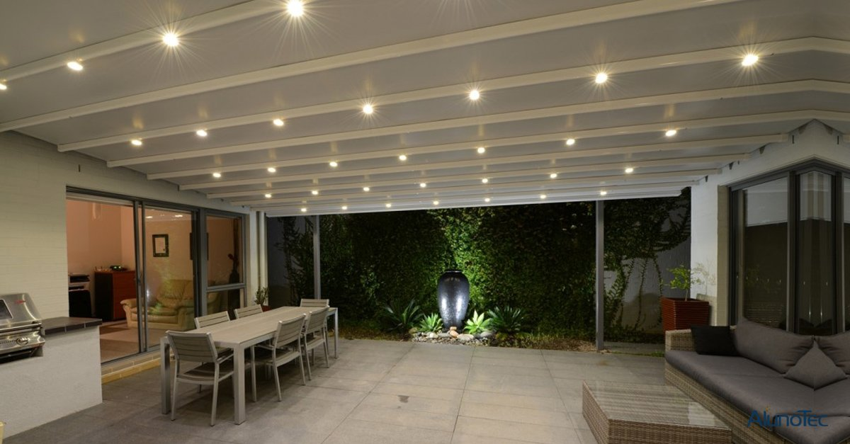Motorized Retractable Roof System