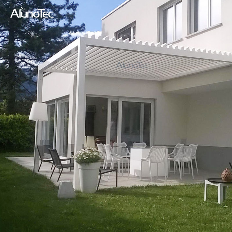 Retractable Pergola Aluminum Garden Gazebo For Garden