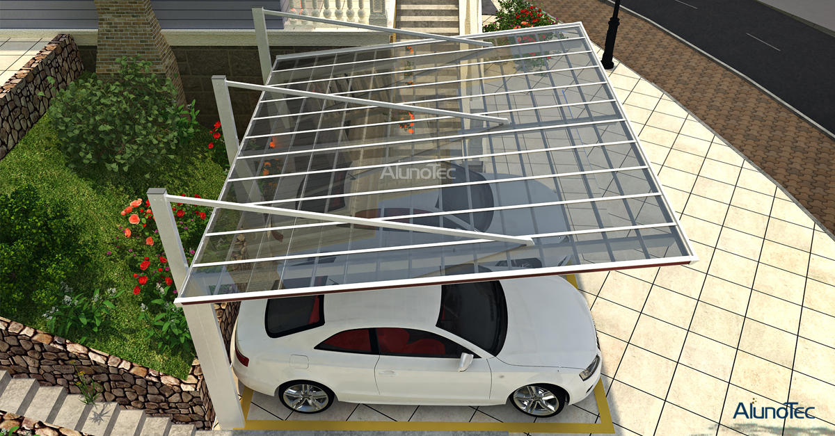 polycarbonate awning carport