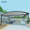 DIY Outdoor Waterproof Opening Cover Retractable Awnings for Restaurant