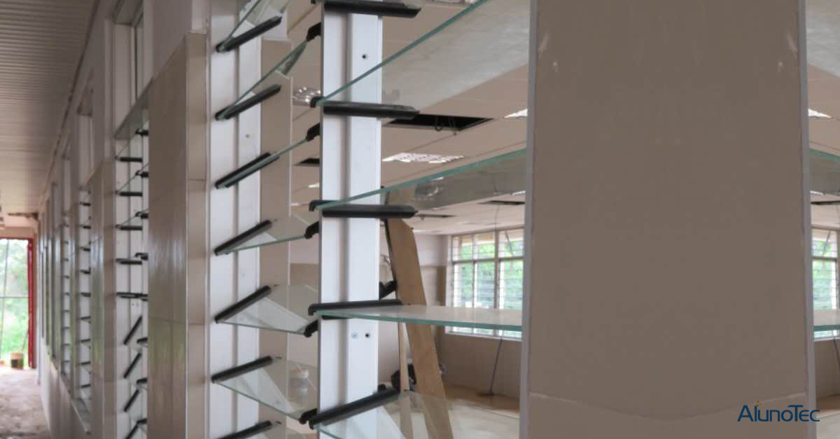 AlunoTec Louver Frame Project Case - Pictures are provided by Mr. Jide from Nigeria, thanks a lot