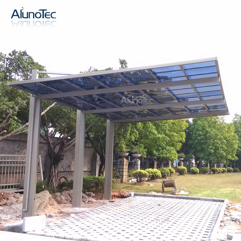 High Quality Custom Size Aluminum Frame Waterproof Carport For Garden