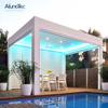 Terrace Decorative Louver Aluminium Gazebo Garden Motorized Pergola Gazebo