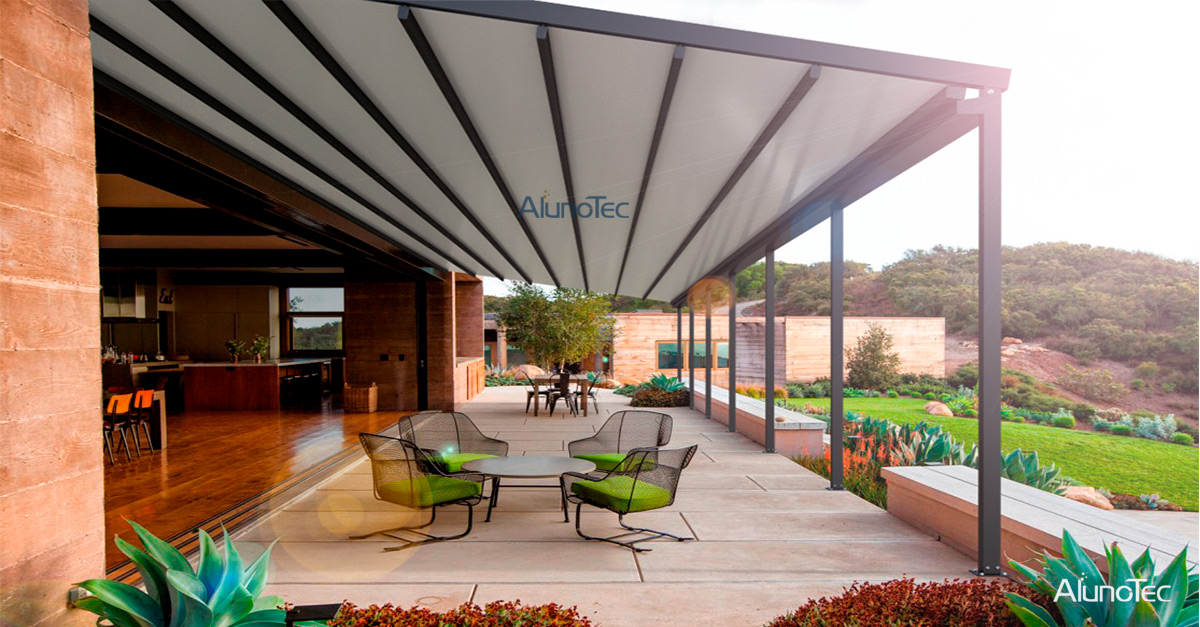 Outdoor Garden Retractabkle Awning