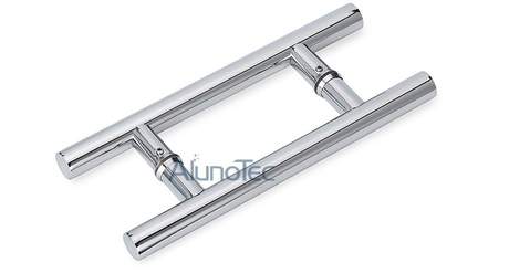 Chroming Stainless Steel Glass Door Handle