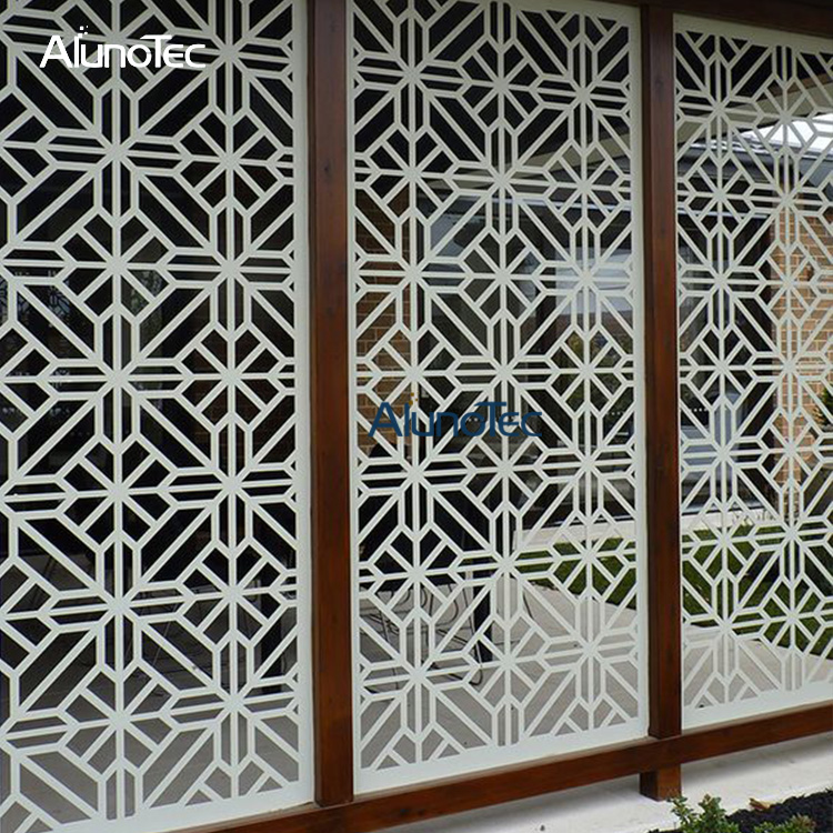 New Design Aluminium Perforated Partition Panel for Outdoor