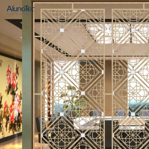 2019 Hot Sale Aluminium Perforated Panel Partition Panel Used in The Office