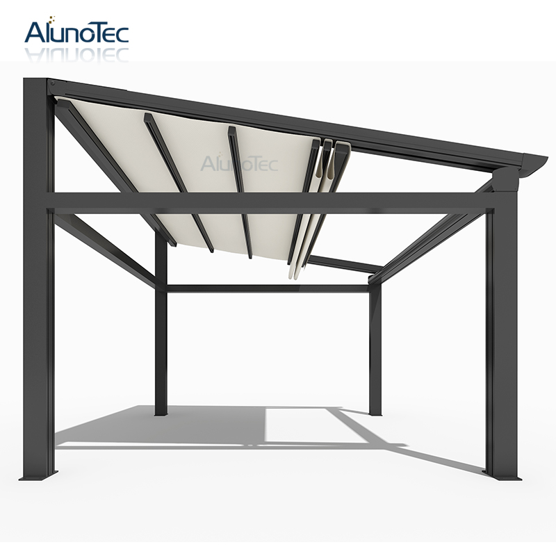 Electric Tent Adjustable Pergola Waterproof Awning Outdoor ...