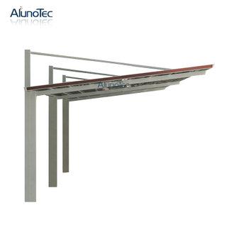Waterproof Customized Aluminum Frame Carport PC Roof Canopy