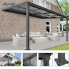 High Quality Waterproof Slide Roof Patio Cover For Garden