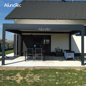Customized Waterproof Gazebo Pergola System With Electric System