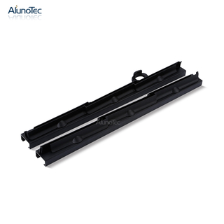 New Design SF-200 6' Black Color Glass Blade Louver