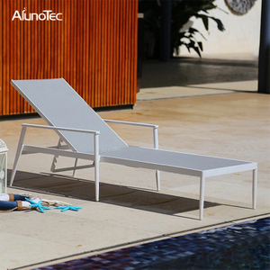 European Garden Sun Lounger Design Furniture Swimming Pool Chair