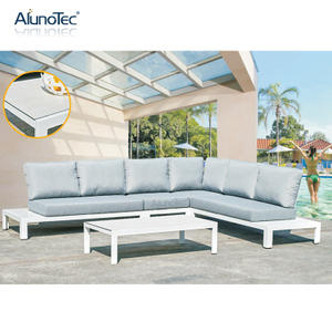 Luxury Upholstery Sofa Set Sectional Garden Leisure Patio Furniture