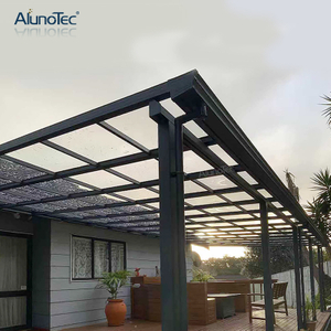 Customized Sunblock Polycarbonate Cover Outdoor Canopy Balcony Terrace Roof