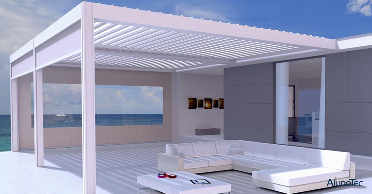 Aluminum Pergola Suitable Place