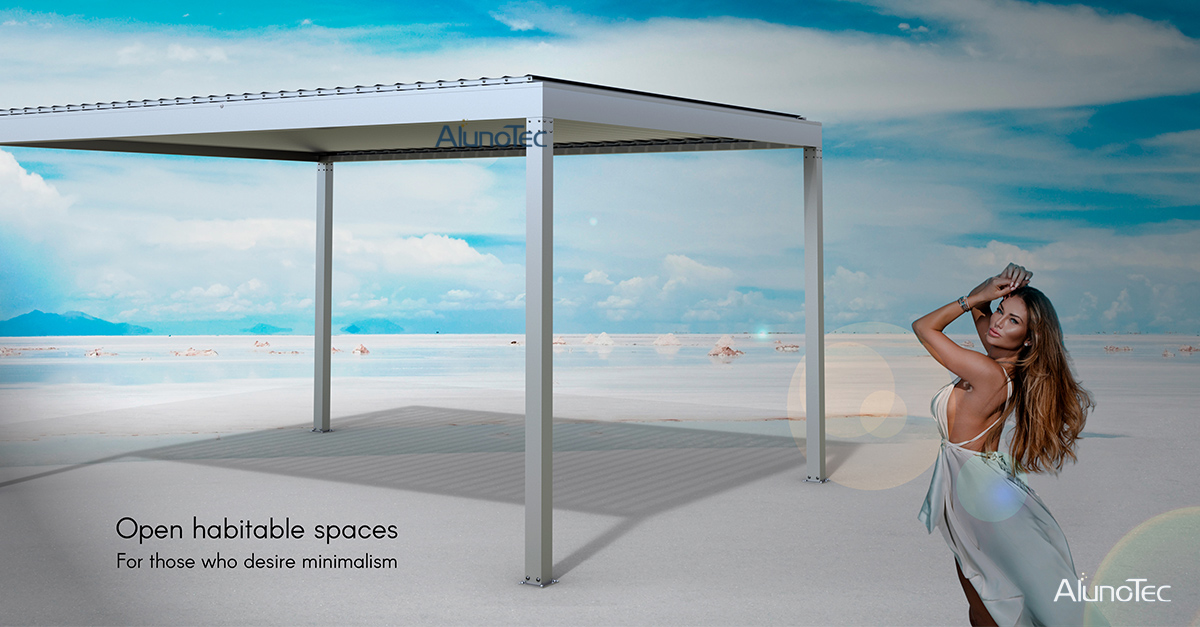 Why AlunoTec aluminum pergola is a perfect product for outdoor activities?
