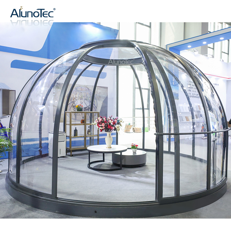 Tent Dome Star View Family Outdoor Polycarbonate Roof Modular Transparent Aluminum Nano Roundhouse Sunroom