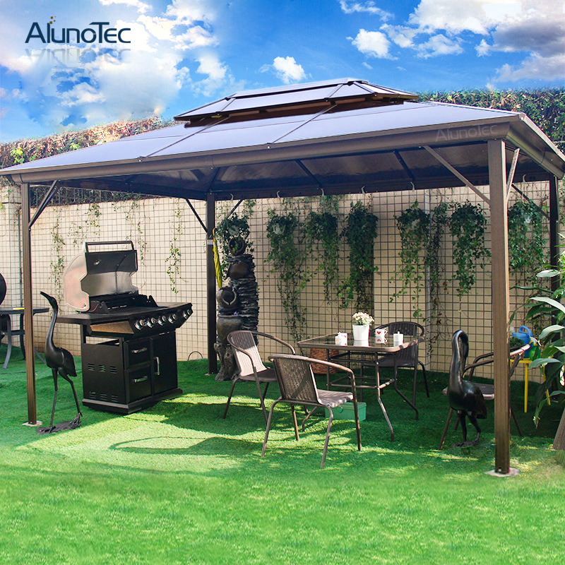 China Wholesale Waterproof Garden Aluminum Outdoor Gazebo