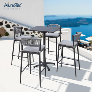 Bar Sets Garden Patio Furniture with Stool Chairs and Tables