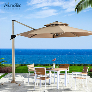 Outdoor Canopy Patio Umbrella with 360 Degree Rotation